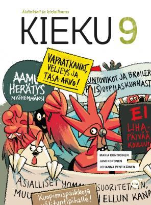 Kieku 9 +  Kukkonen (Kehittyvän kirjoittajan opas)